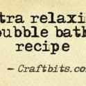 Bubble Bath - Relaxing