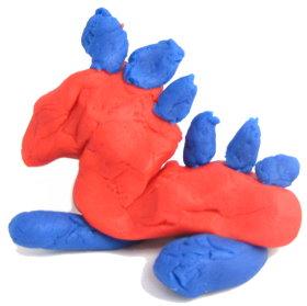 Playdough Keepsakes