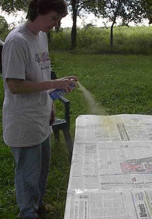 spray mesh
