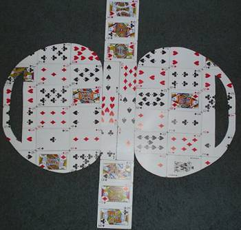 Playing Cards Layout