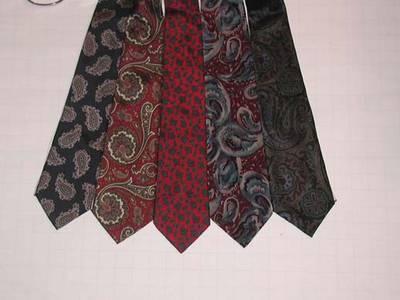 5 ties