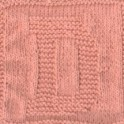 Knitted Letter Cloth - D