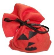 Halloween Treat Bag Pumpkin-Red