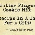 Butter Finger Cookie Mix