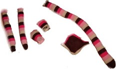 Sock Monkey Pieces