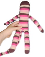 Sock Monkey With Limbs