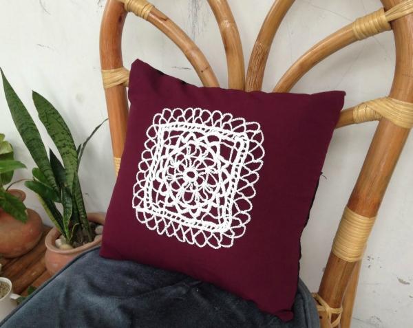 Irish Lace Pillow