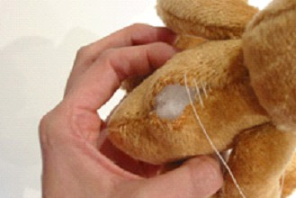 Sewing up the Teddy Close