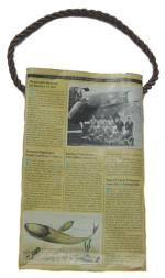 Recycled Magazine Handbag