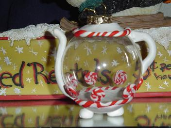 tea pot ornament