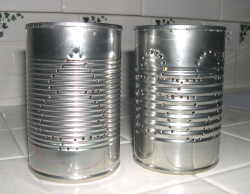 tin can holes