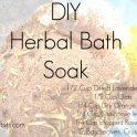Herbal Bath Soak - Exfoliating