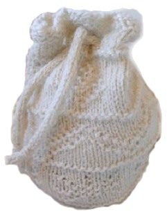Old Style Knitted Holiday Bag