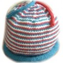 Charity Pattern: Helix Striped Cap