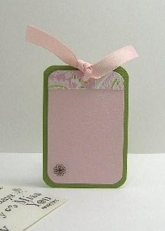 Celebrate Card Tag