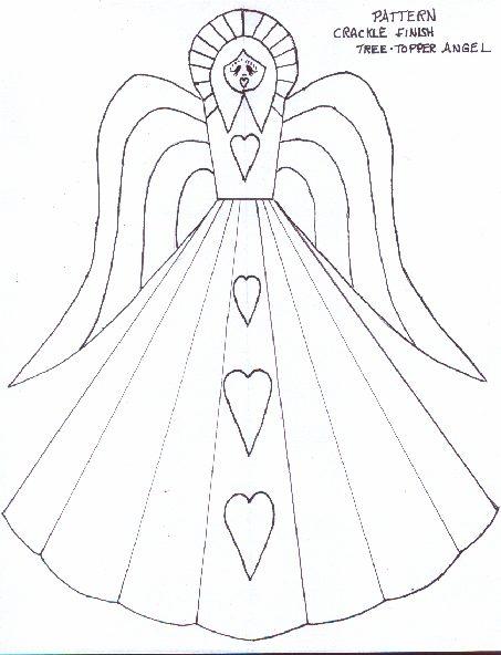Aged Angel TreeTopper - Christmas Crafts - craftbits.com
