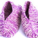 Knitted Slippers - Grandma's Quick Time