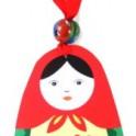 Matryoshka Russian Doll Ornament