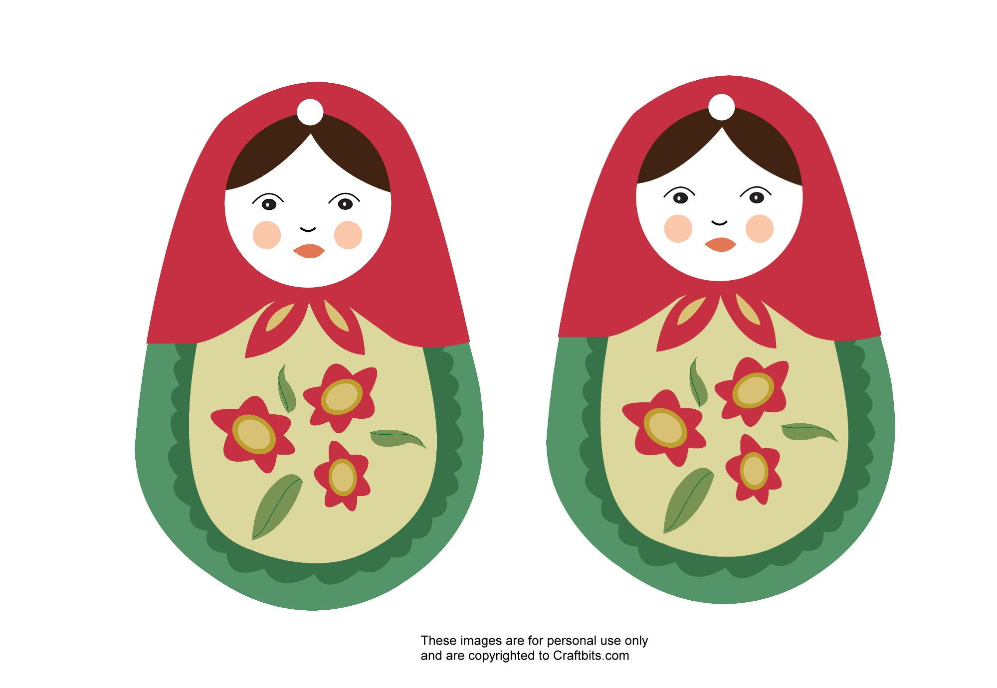 Russian-doll-ornament-pattern