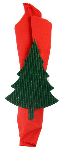 xmas tree napkin ring