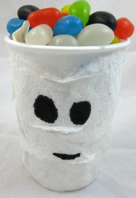 Mummy Treat Cup