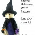 Knitted Halloween Witch