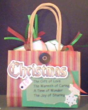 Altered Scrapbook Gift Bag Album