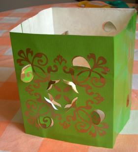 Paper Lantern Green