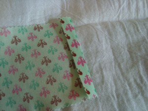 Cutesy Towel Fold Edges