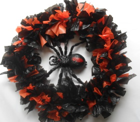 Spider In Wreath