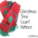 Children's Scarf: Christmas Tree