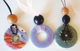 Metal washer necklaces jewelry making craftbits necklace washer finished 2 aloadofball Choice Image