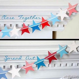 Fourth of July Banner Step 6