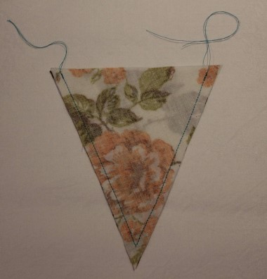 Bunting Step 4