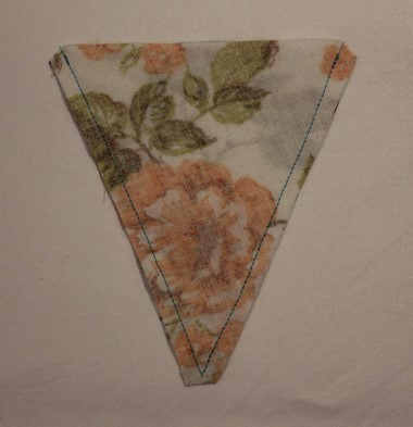 Bunting Step 5