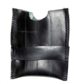 Sew leather pieces