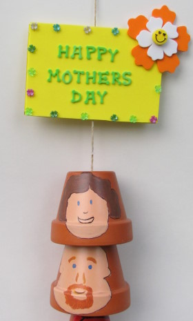 Mother's Day Wind chime Top