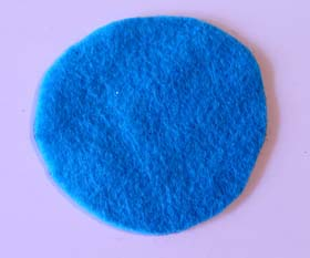 Cut bottom felt