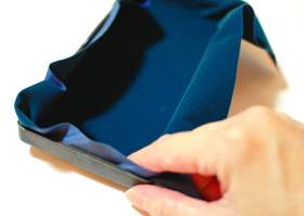 Add Velvet Fabric