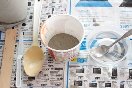 DIY Cement Brooches - Step 5