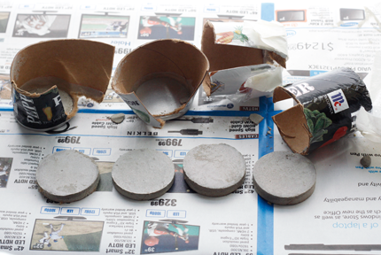 DIY Cement Brooches - Step 10