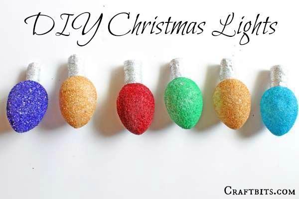 Styrofoam Christmas Lights