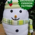 Christmas Snowman Sewing Pattern