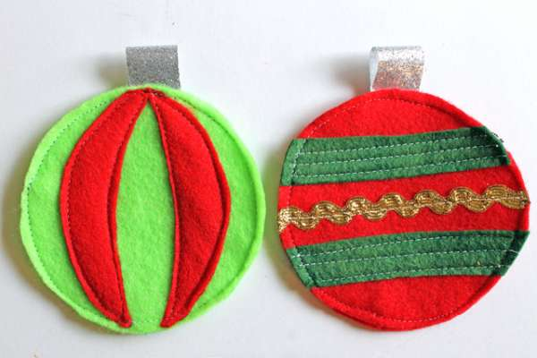 ornament coasters