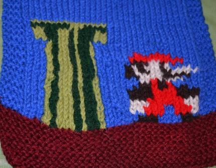knit mario scarf