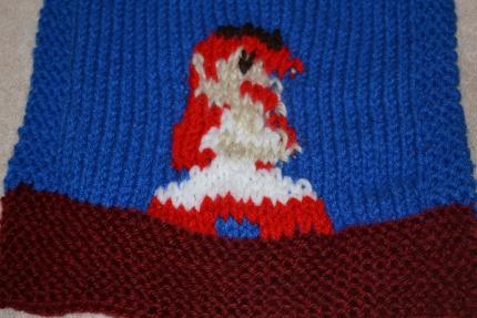 princess mario scarf