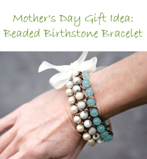 Bracelet – Beaded Birthstone Chain
