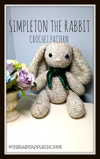 Free Crochet Pattern For A Rabbit : Easter Crochet Pattern: Simpleton the Rabbit ? craftbits.com
