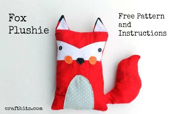 Make a Fox Plushie Soft Toy