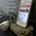 Cement iPhone Stand